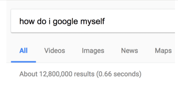 How Do I Google Myself