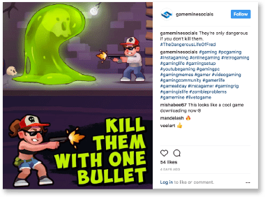 GameMine instagram